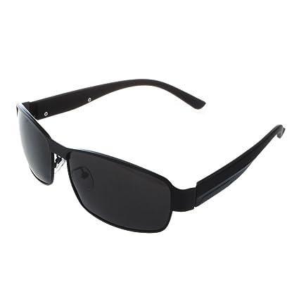 TOOGOO(R)Moda Conduccion Gafas Polarizadas Hombres Gafas de Sol Exterior Deportes Anteojos Gafas