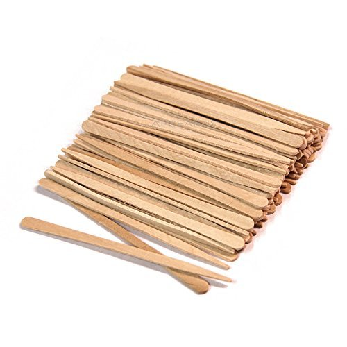 wooden spatulas waxing - 8
