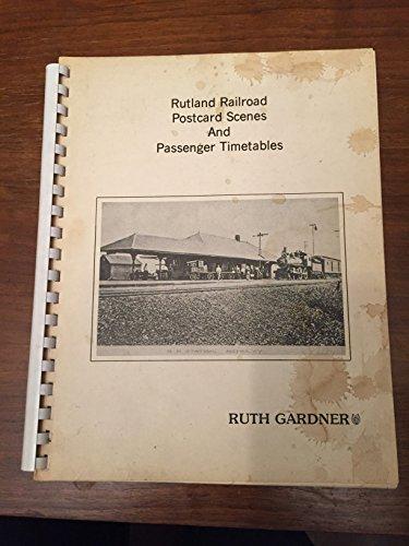 Rutland Railroad Postcard Scenes (The Rutland Railroad)