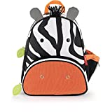 Skip Hop Zoo Toddler Kids Insulated Backpack Zax Zebra, 12-inches, Multicolored