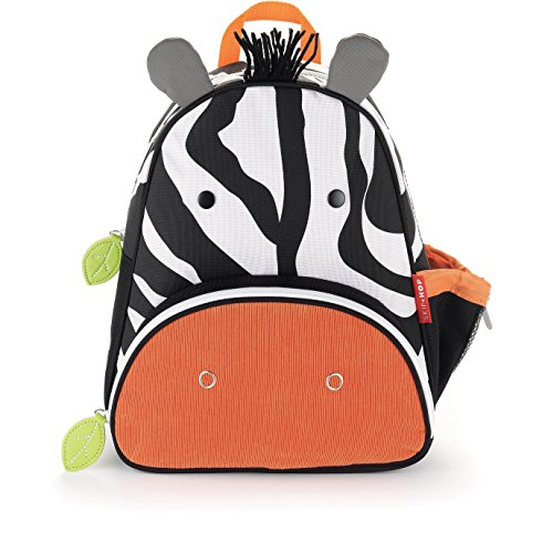 Skip Hop Zoo Toddler Kids Insulated Backpack Zax Zebra, 12-inches, Multicolored by Skip Hop