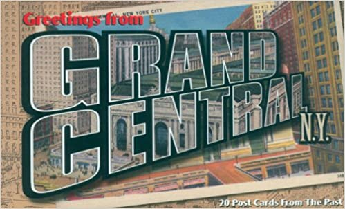 Greetings from grand central ny vintage postcard muesum of the greetings from grand central ny vintage postcard muesum of the city of new york 9781586850173 amazon books m4hsunfo