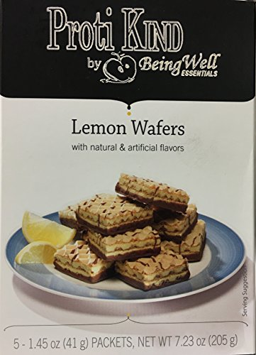 Proti Kind High Protein Diet Wafers (Lemon) by Being Well Essentials