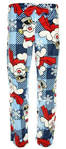 Frosty The Snowman Minky Fleece Sleep Pajama Pants,multicoloured,Medium / 8-10