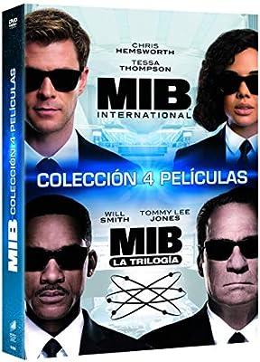 Pack 1 + 2 + 3 + International: Men in Black [DVD]: Amazon.es: Tommy Lee Jones, Will Smith, Chris Hemsworth, Barry Sonnenfeld, F. Gary Gray, Tommy Lee Jones, Will Smith, Columbia Pictures,
