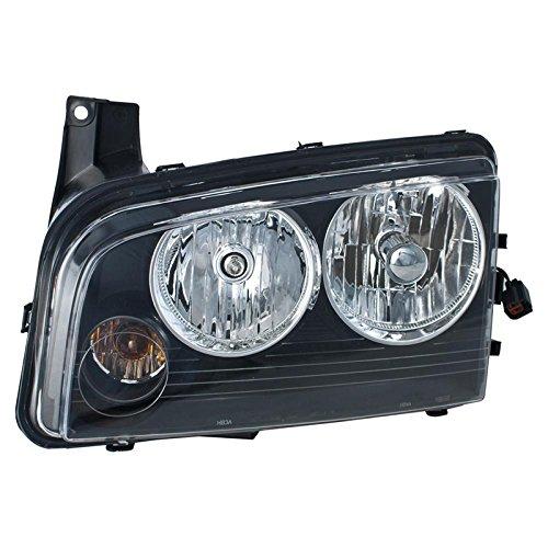 Headlight Left Halogen Assembly - 6