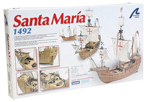 Artesania Latina 22411 1/65 Santa Maria Model Building (Artesania Latina Model Ships)