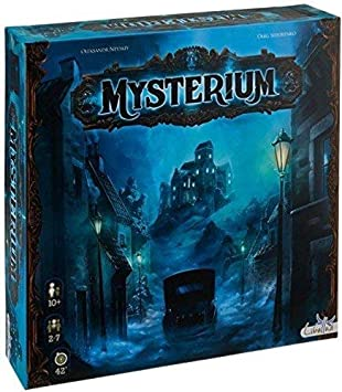 Asmodee Mysterium with Mysterium: Hidden Signs Expansion: Amazon.es: Juguetes y juegos