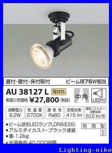 コイズミ照明 アウトドアスポットライト AU38127L B00K11CH5E 12780