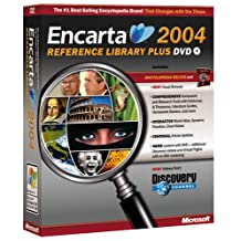 Microsoft Encarta Reference Library 2004 DVD