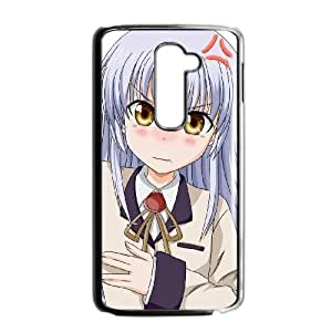 LG G2 Cell Phone Case Covers Black Angel Beats JD7680692