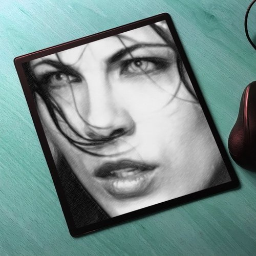 Seasons Kate Beckinsale - Original Art Mouse Mat #js004