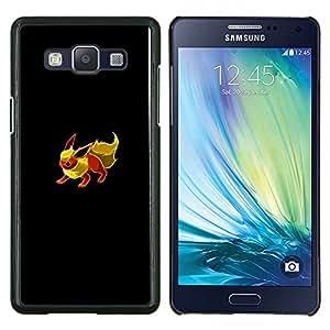 Qstar Arte & diseño plástico duro Fundas Cover Cubre Hard Case Cover para Samsung Galaxy A5 A5000 (Eevee P0kemon)