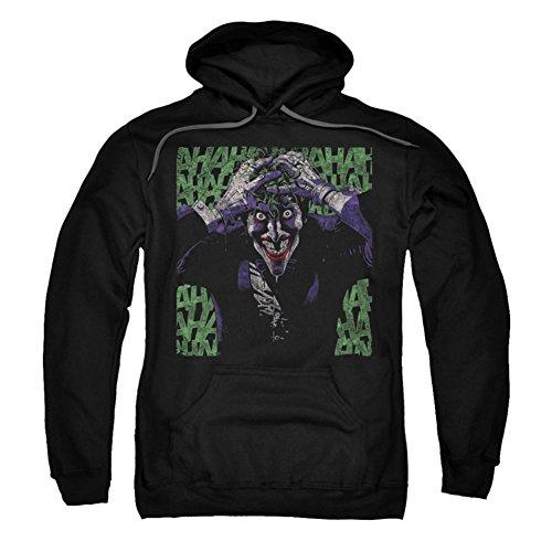 UPC 887806879241, Trevco Batman-Insanity - Adult Pull-Over Hoodie - Black, Medium