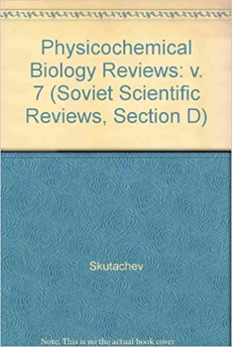 Physicochemical Biology Reviews (Soviet Scientific Reviews, Section D)