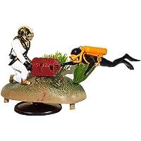 Doble cazador de tesoros Diver Figura de acción