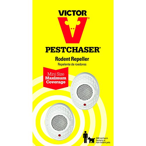 Victor Mini PestChaser Ultrasonic Rodent Repellent M752 , 2-Pack - not available in HI or NM