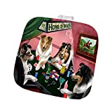 Home of Shelties 4 Dogs Playing Poker Pot Holder