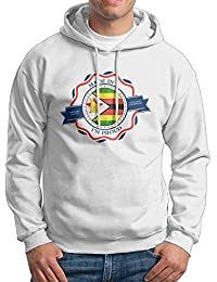 Men's Made In Zimbabwe Long Sleeves Sweatshirt Hooded Pullover Tops
