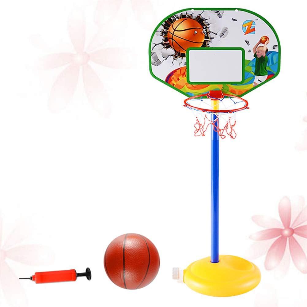 Toyvian 3 Piezas Mini aro de Baloncesto para niños con Juegos de ...