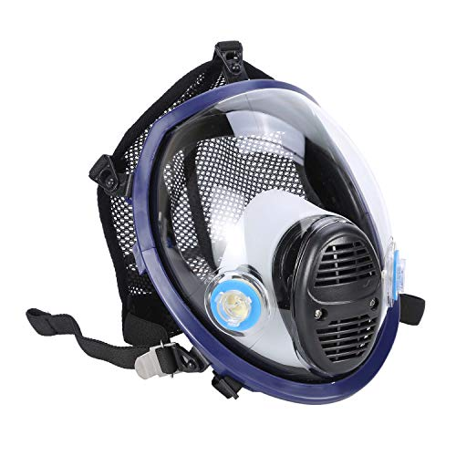 Holulo Organic Vapor Full Face Respirator With Visor Protection For Paint, chemicals, polish welding protection by Holulo (Image #2)