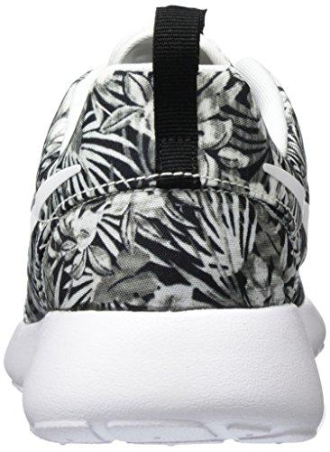 Nike Roshe One Print Prem, Zapatillas De Deporte para Hombre Blanco (Black / White)