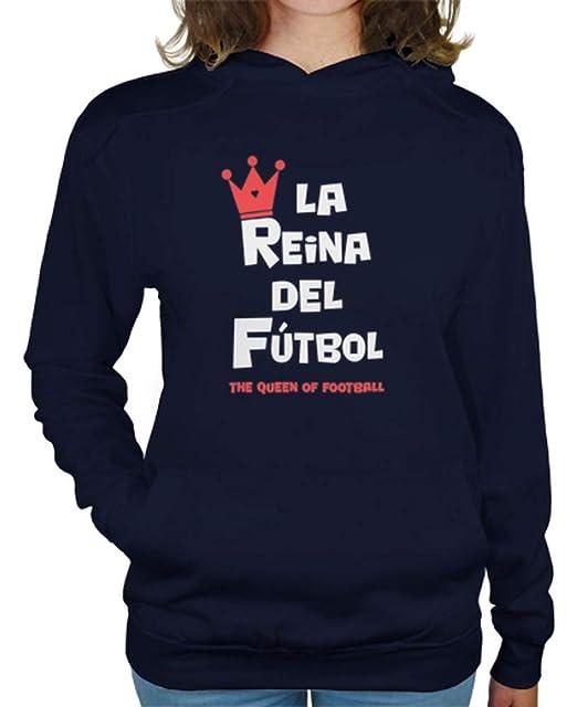 latostadora - Jersey la Reina del Futbol para Mujer: Amazon.es: Ropa y accesorios