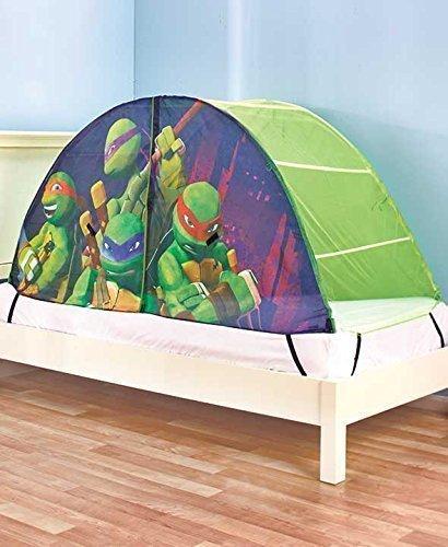 Kidsu0027 Teenage Munant Ninja Turtles Play Tents & Ninja Turtle Tent Bed