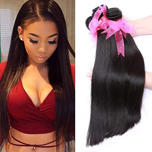 Good Quality Brazilian Straight Hair Bundles (18 20 22Inch) Unprocessed Mink Brazilian Straight Virgin Human Hair Weave Bundles 300g/lot (Best Quality Brazilian Hair)