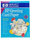 HP C1812A Quarter-Fold Greeting Cards with