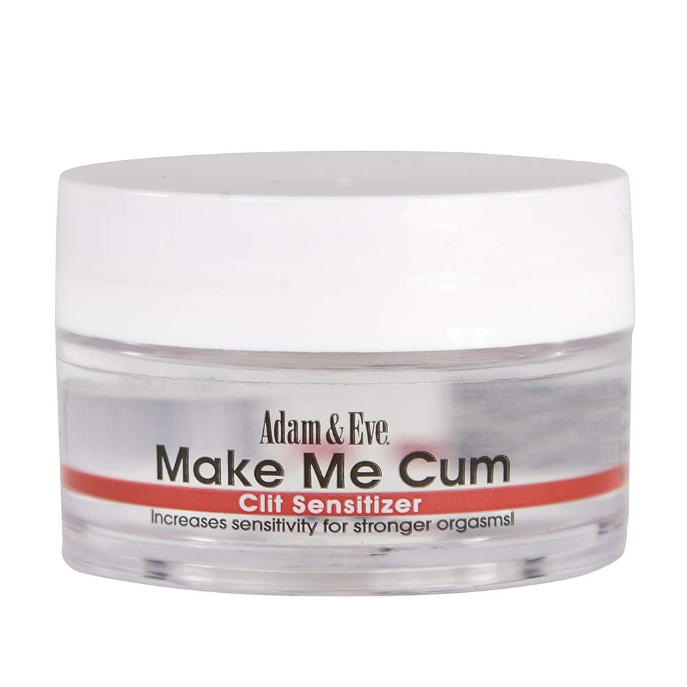 Adam & Eve Make Me Cum Clit Sensitizer 0.5 oz | Clit Stimulation Gel and Water Based Lube for Women