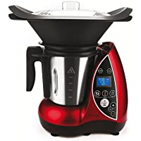 DomoClip DOP142 Robot culinaire chauffant Rouge 3 L 1500 W