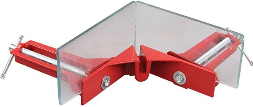 outils de serrage pince multifonction Ogquaton Clips /à angle droit outils /à main rouges angle de serrage /à angle droit support de cadre pour le travail du bois 90 degr/és aluminium