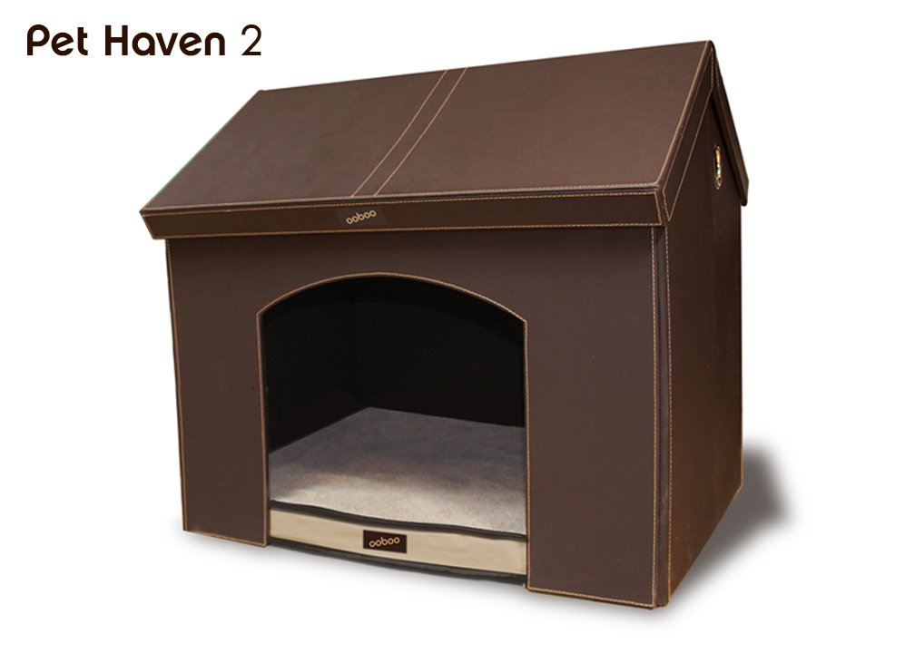 Amazon.com: Pet Haven – Marrón – Interior – Caseta de perro ...