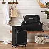 AmazonBasics Softside Carry-On Spinner Luggage