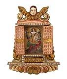 Archangel Art Retablo Cuzco Framed Oil Painting