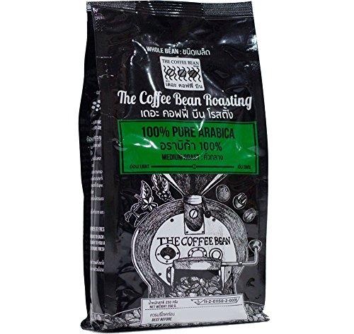 100% Pure Arabica Fresh roasted whole bean coffee, Medium Roast 250 g.