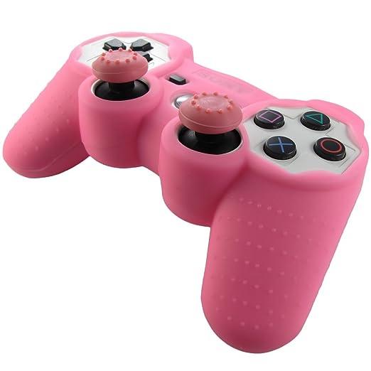 330 opinioni per Pandaren® Pelle cover skin per il PS3 controller(rosa) x 1 + pollice presa x 2