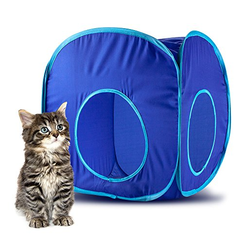 Weebo Pets Pop-Up Cat Play Cube with Storage Bag ()