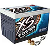 XS Power D3400 12V AGM 3300A Car Audio Battery/Cell+FREE 580 Top-Post Terminals