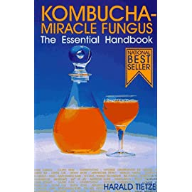 Kombucha Miracle Fungus: The Essential Handbook 33 The Kombucha culture is fermented with sweet tea to produce an effervescent drink, packed with vitamins, enzymes, minerals and organic acids. It's great fo