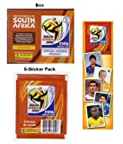 2010 Panini World Cup Soccer Stickers - 2 Boxes + FREE Album
