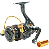 Fishing Reels- 12+1 BB, Light and Smooth Spinning Reels, Powerful Carbon Fiber Drag, Salt and Freshwater Fishing