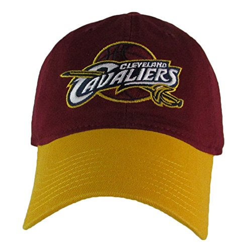 aliers Adjustable Logo Cap, Choose Team Color (Burgundy/Gold) (Adidas Nba Team Slouch Cap)