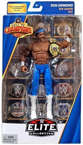 WWE Elite Hall of Champions Ron Simmons WCW 1992 Action Figu