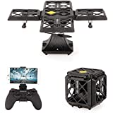 Goolsky 720P Camera Wifi FPV Foldable Cube Drone Headless Mode Altitude Hold G-sensor Quadcopter