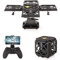 Goolsky 720P Camera Wifi FPV Foldable Cube Drone Headless Mode Altitude Hold G-sensor Quadcopter