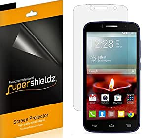 [6-Pack] Supershieldz- High Definition Clear Screen Protector For Alcatel One Touch Fierce 2 (T-Mobile, MetroPcs) + Lifetime Replacements Warranty - Retail Packaging