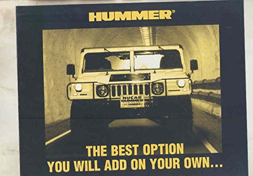 Original Dealer Brochure - 2000 Hummer H1 H2 Nucar New Castle Delaware Dealer Brochure