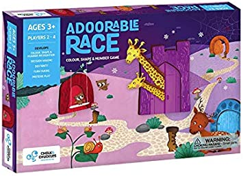Chalk and Chuckles Adoorable Race, Multi Color